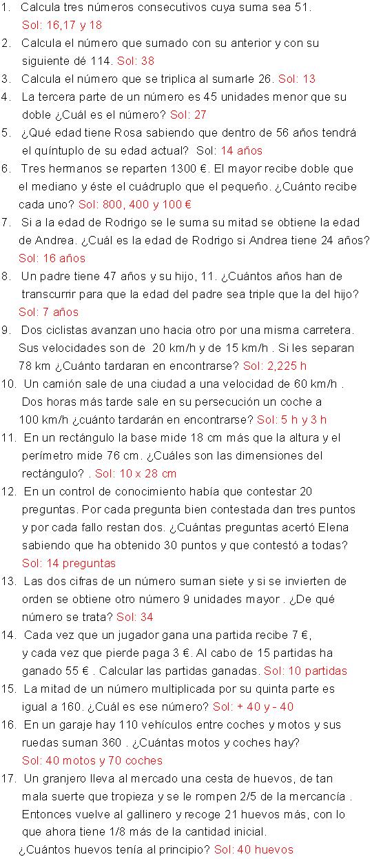 11 Ideas De Ecuaciones De Primer Grado 1º Eso Ecuaciones Primeros Grados Ejercicios Matematicos Secundaria