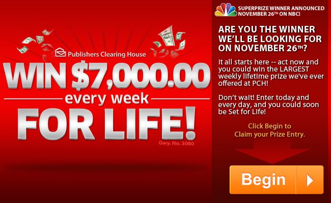 7,000 a week for life    Does that get your attention now ? Still