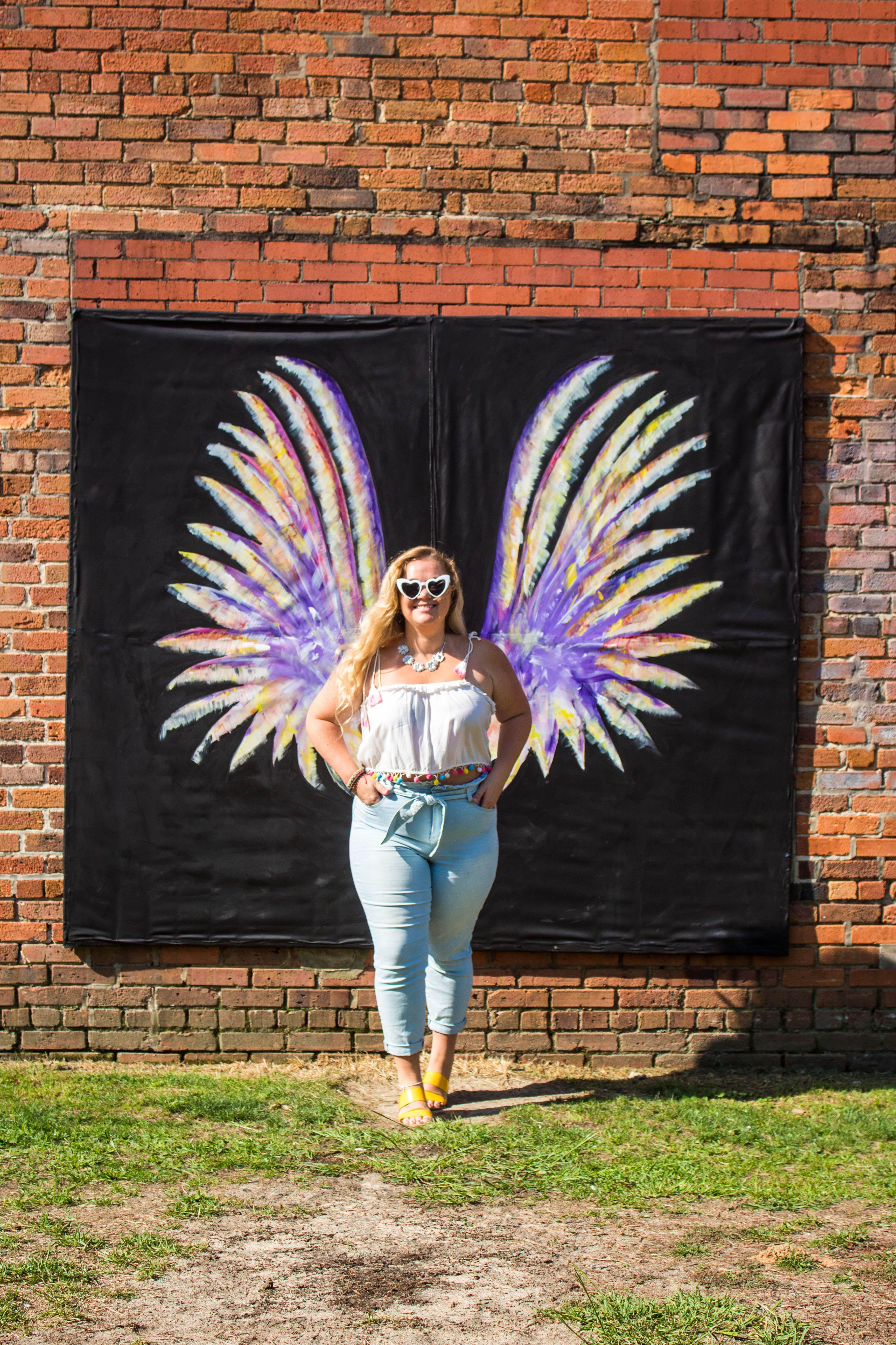 Top 5 Instagrammable Spots In Fayetteville Nc Fayetteville Nc Colorful Art Installations Fayetteville