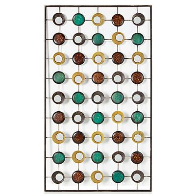 Modern home metal wall art at big lots decor dujour for Lots of pictures on wall