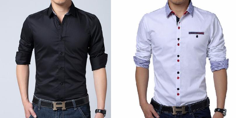 f620c3d466 Camisa slim masculina – DIY – molde