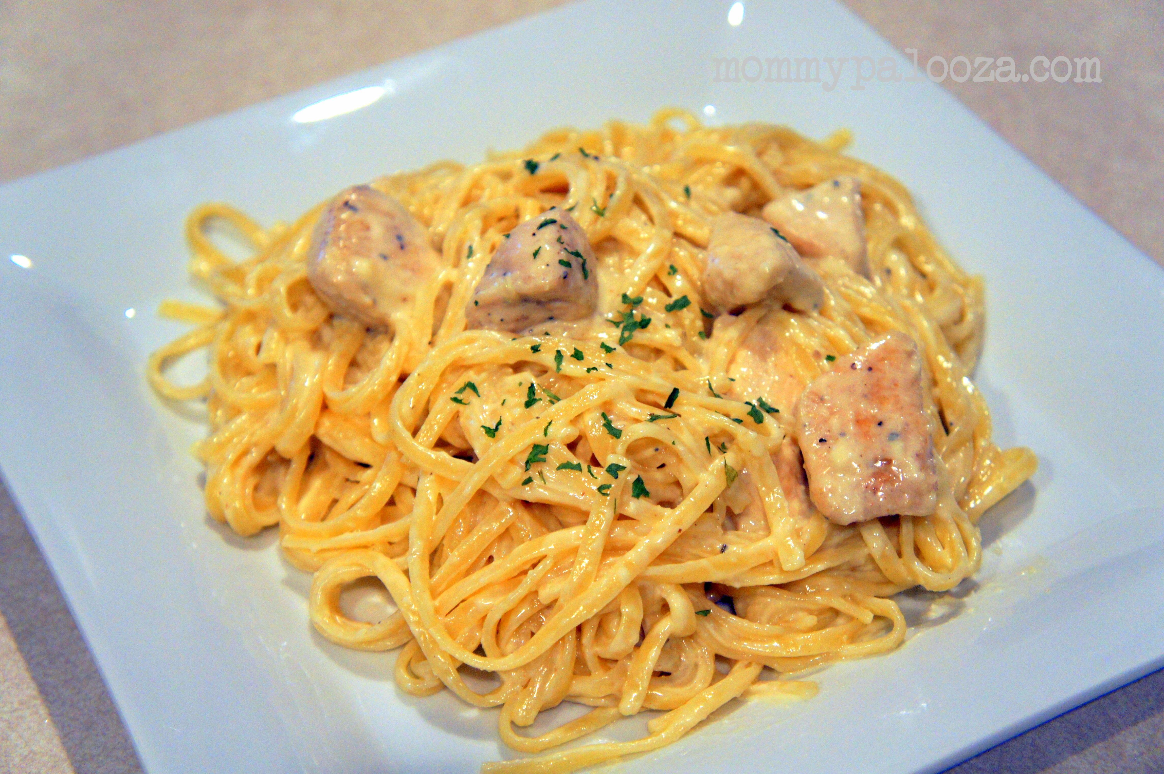 {Recipe} Olive Gardeninspired Chicken Fettucine Alfredo