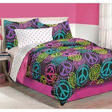 pink zebra print hello kitty peace sign bedroom | Latitude ...