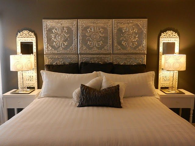 Western Inspired Room Love The Headboard With Old Doors: #bedroom Décor, Beds, Headboards, Four Poster, Canopy