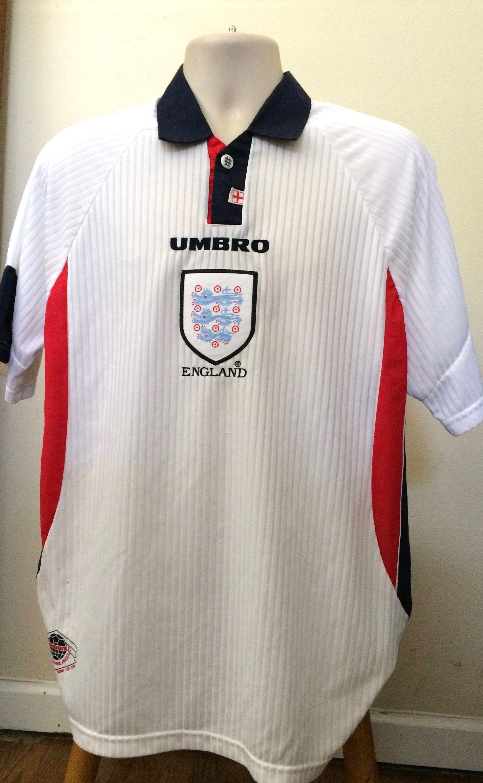 Vintage Umbro England Soccer Jersey 2 Button Front Vintage Etsy In 2020 England Soccer Jersey Soccer Jersey Vintage Clothing Men