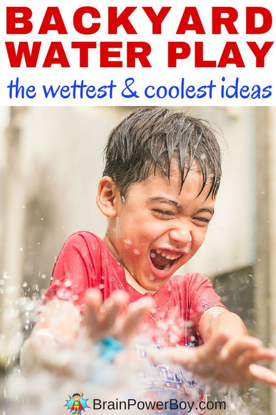 These Smashing Backyard Ideas Are Hot And Happening: The Wettest & Coolest Backyard Water Play Ideas