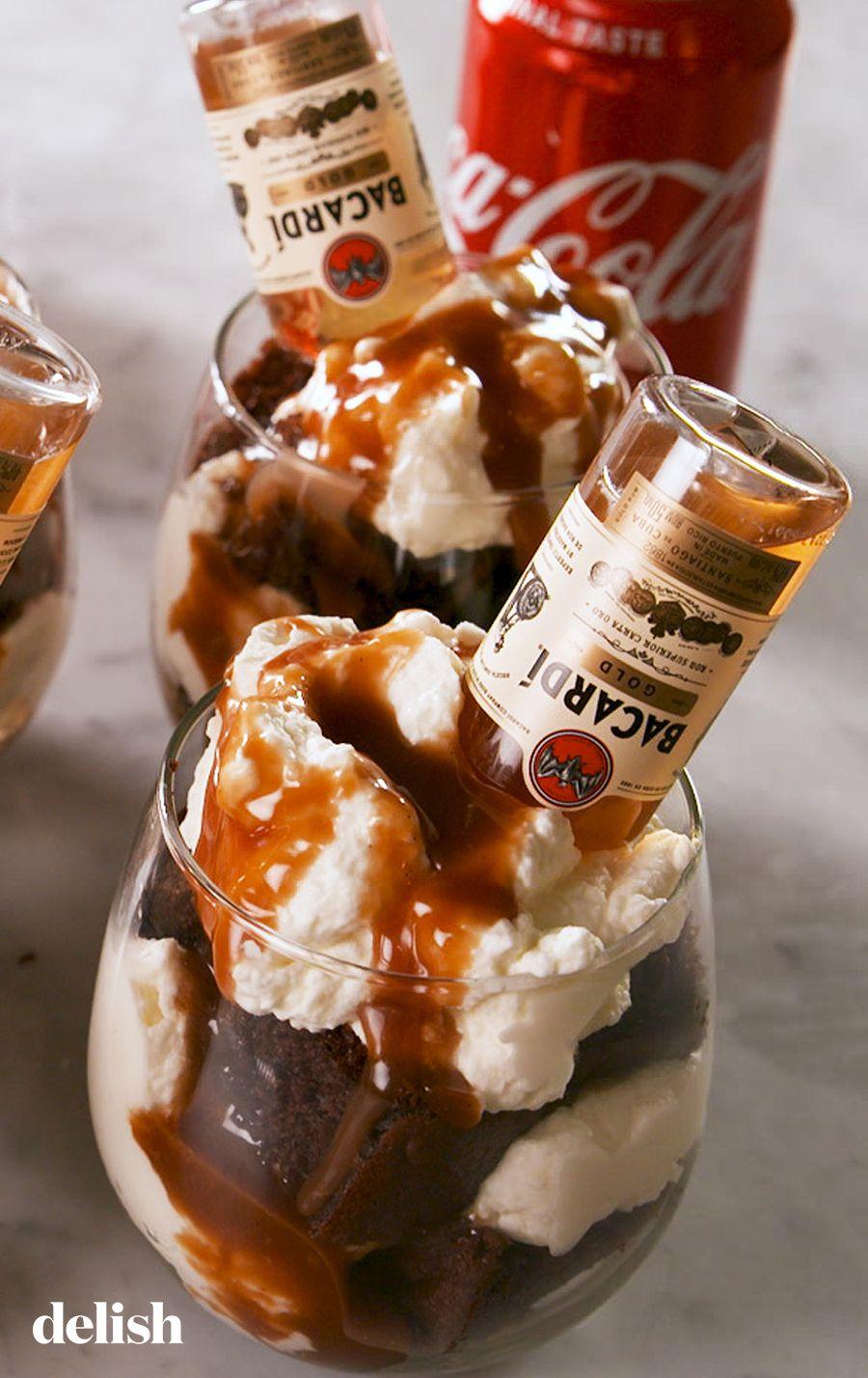 Rum & Coke Cakes