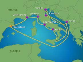 Departs September 23 2018 Royal Caribbean 12 Night Mediterranean Venice Cruise LEAVING FROM Barcelona