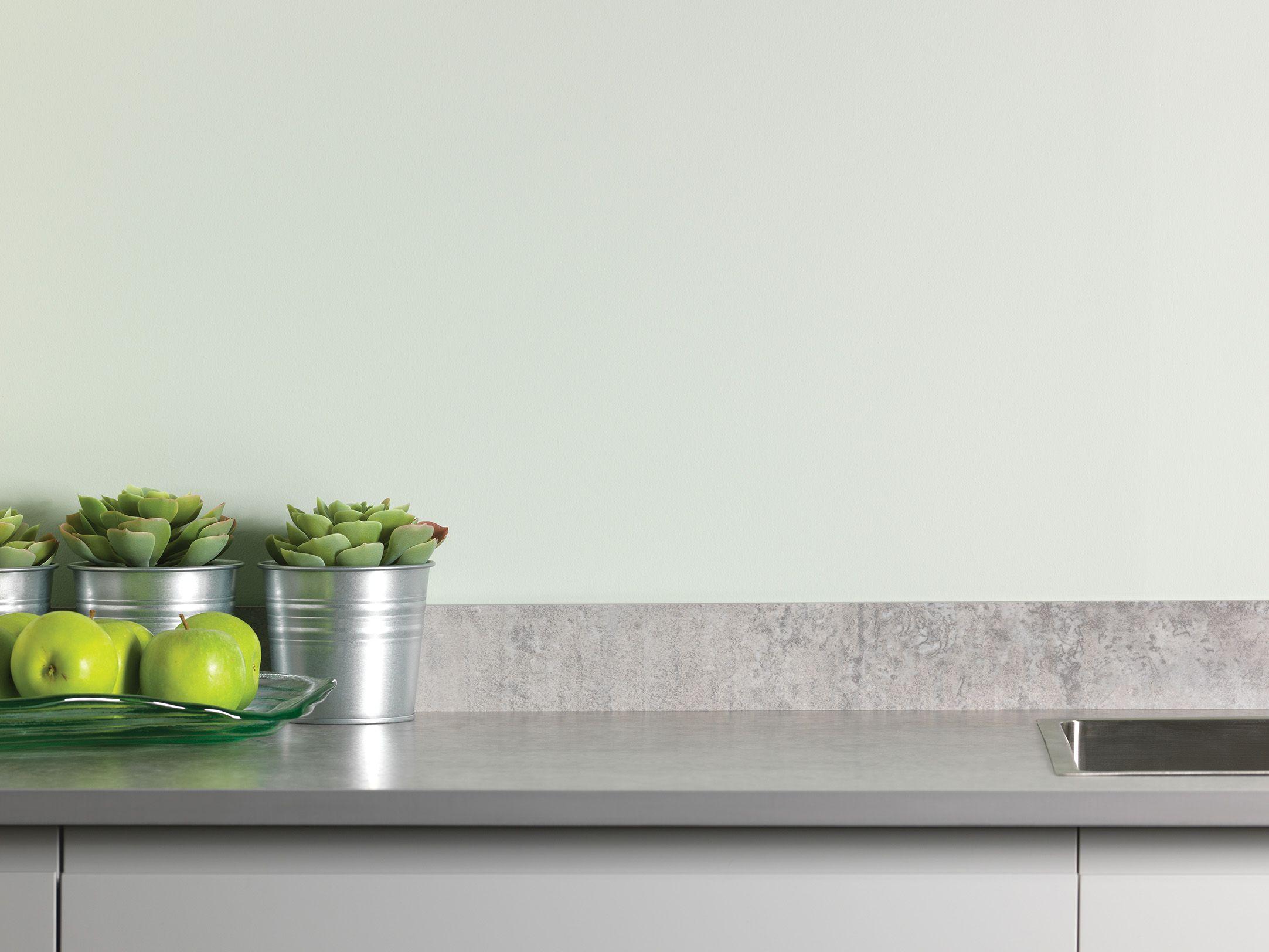 Thin White Kitchen Worktops