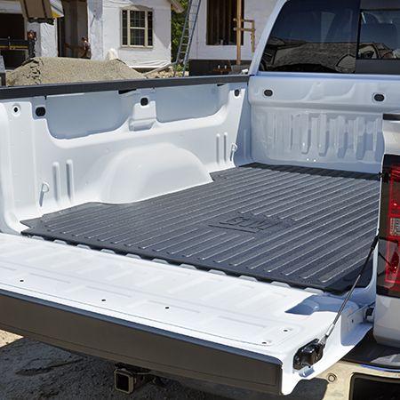 2016 Silverado 1500 Bed Mat Black Rubber Gm Logo 8ft Long Box