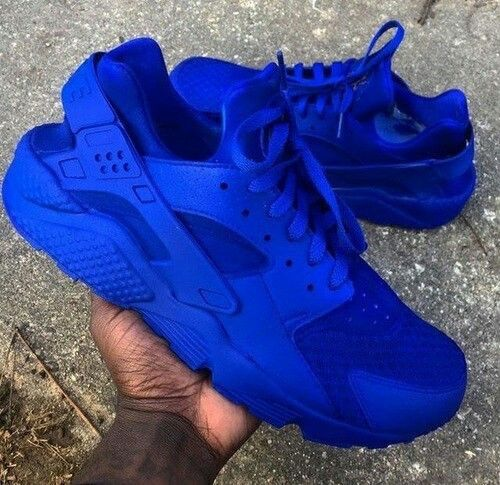 the latest f4a22 f0150 Electric Blue Nike Air Huaraches | S H O E S | Shoes, Shoe ...