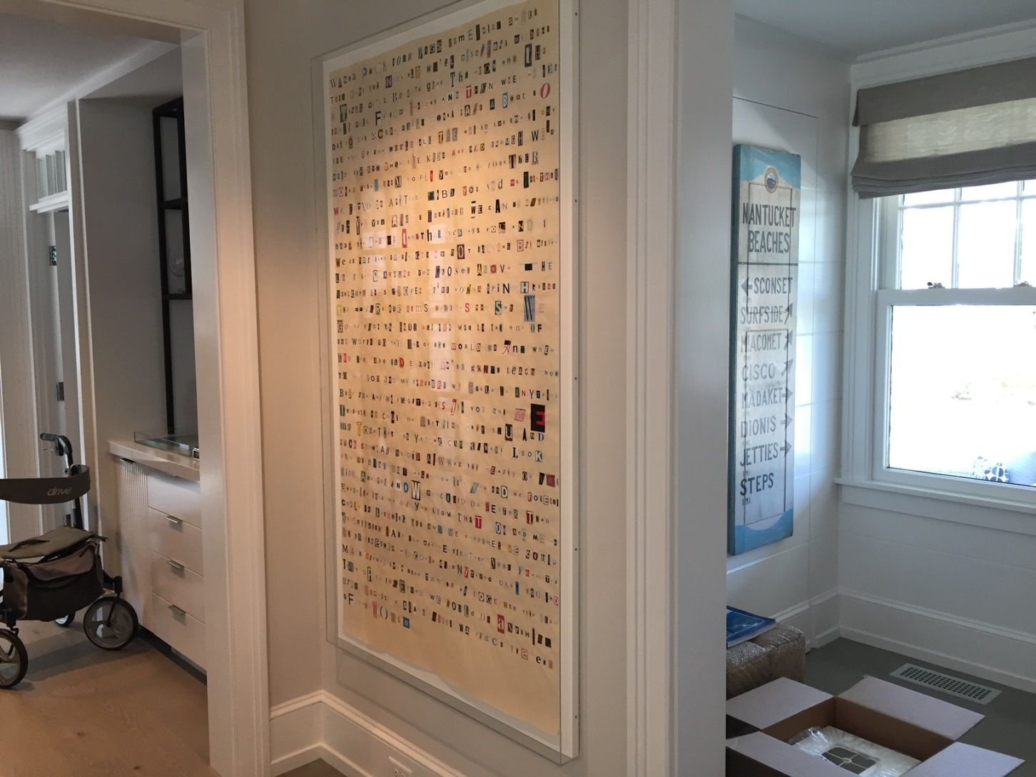 Moving Wall Art To The Amazing Island Of Nantucket Moving Walls Wall Wall Art