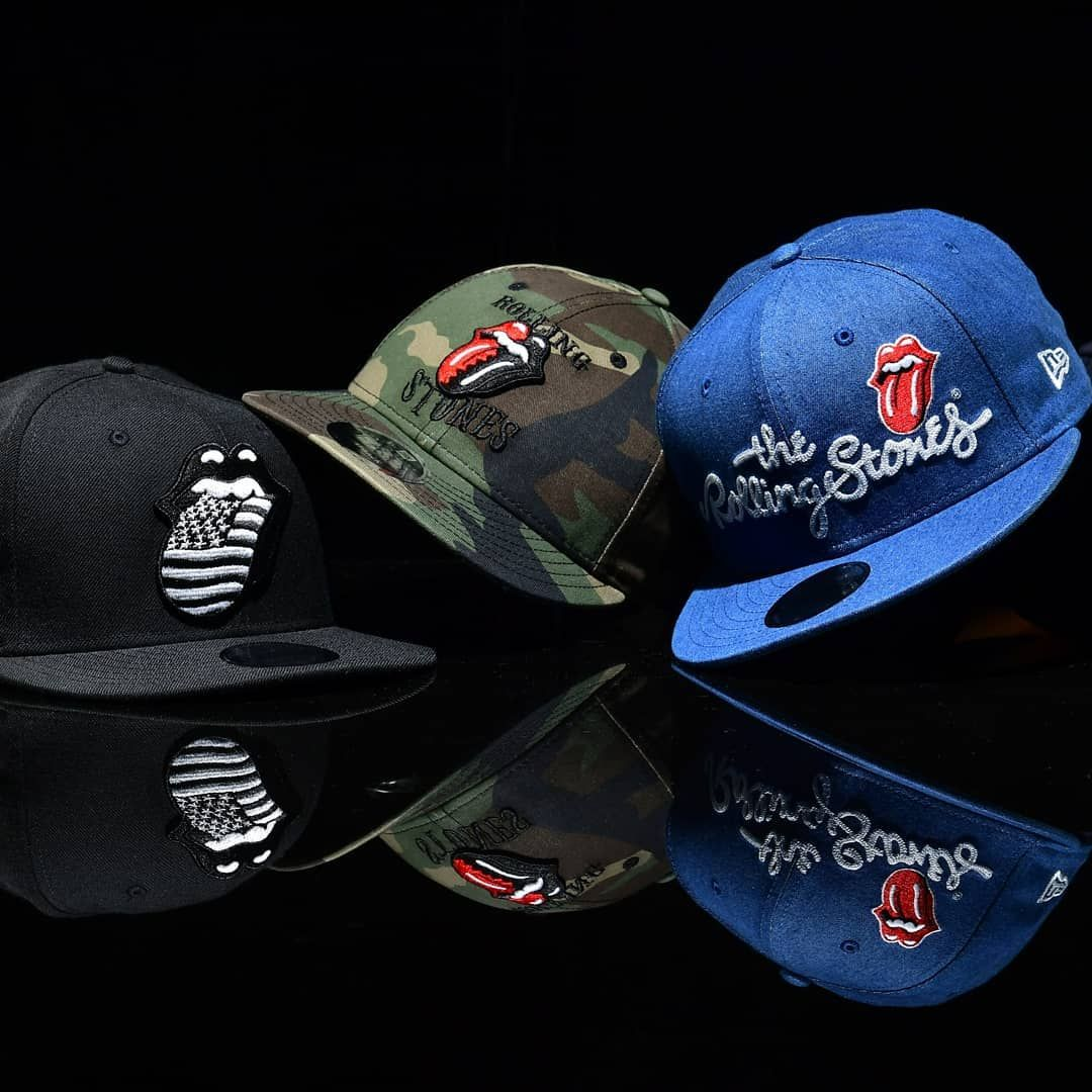 57e005190a11 The Rolling Stones Collections now available at New Era Cap Concept Store  Gandaria City Jakarta