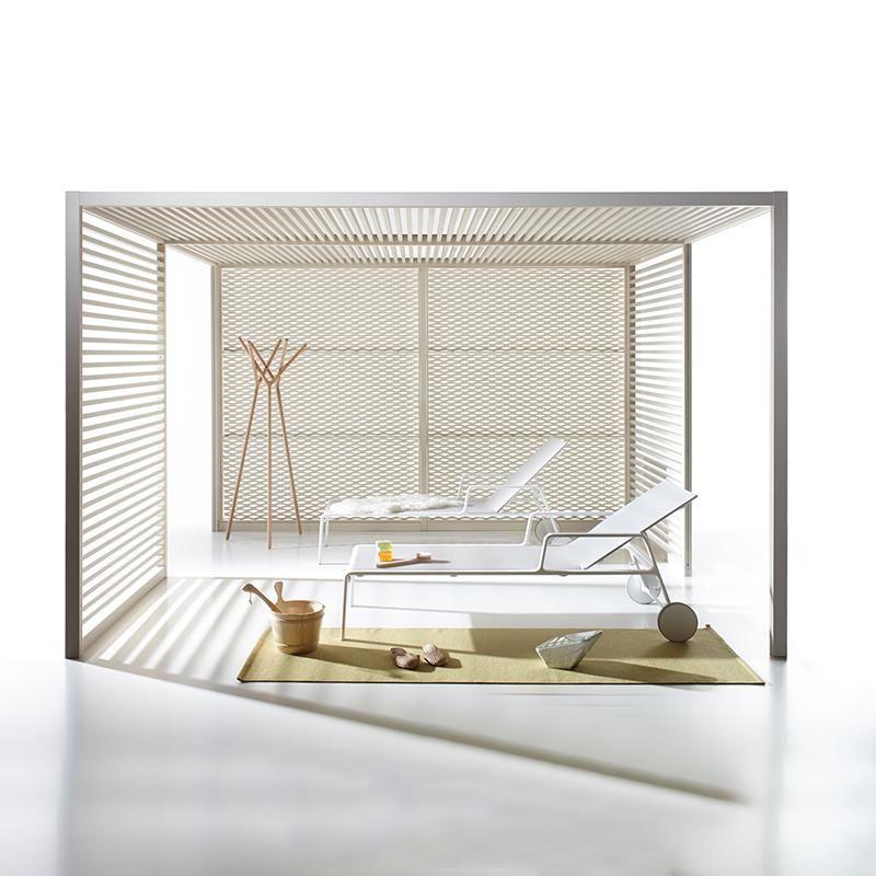 Outdoor Spaces · Cabana For A Very Contemporary Look. Kettal   Pavilions    Pavilion DR Landscape Designer Www