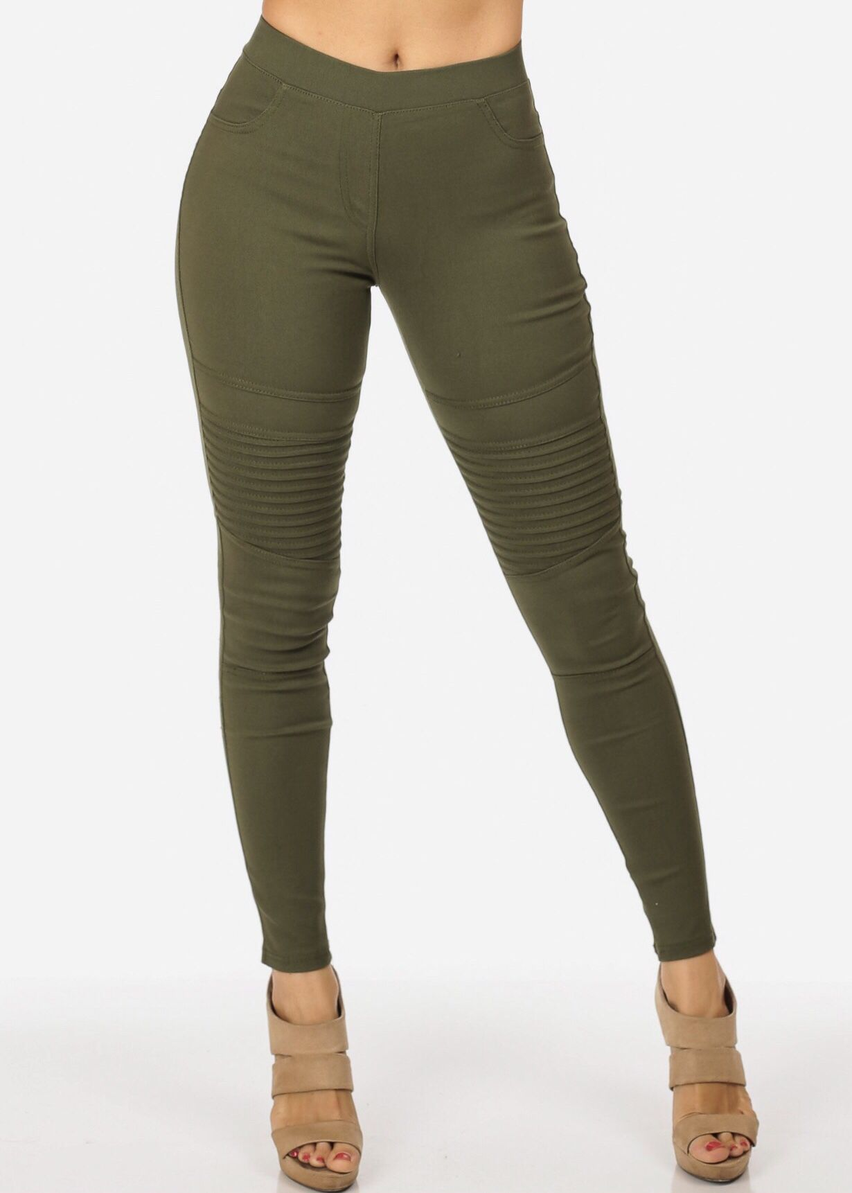 2eec6bcc201 Olive Skinny Moto One of the best things that have ever happened to moto.  Super