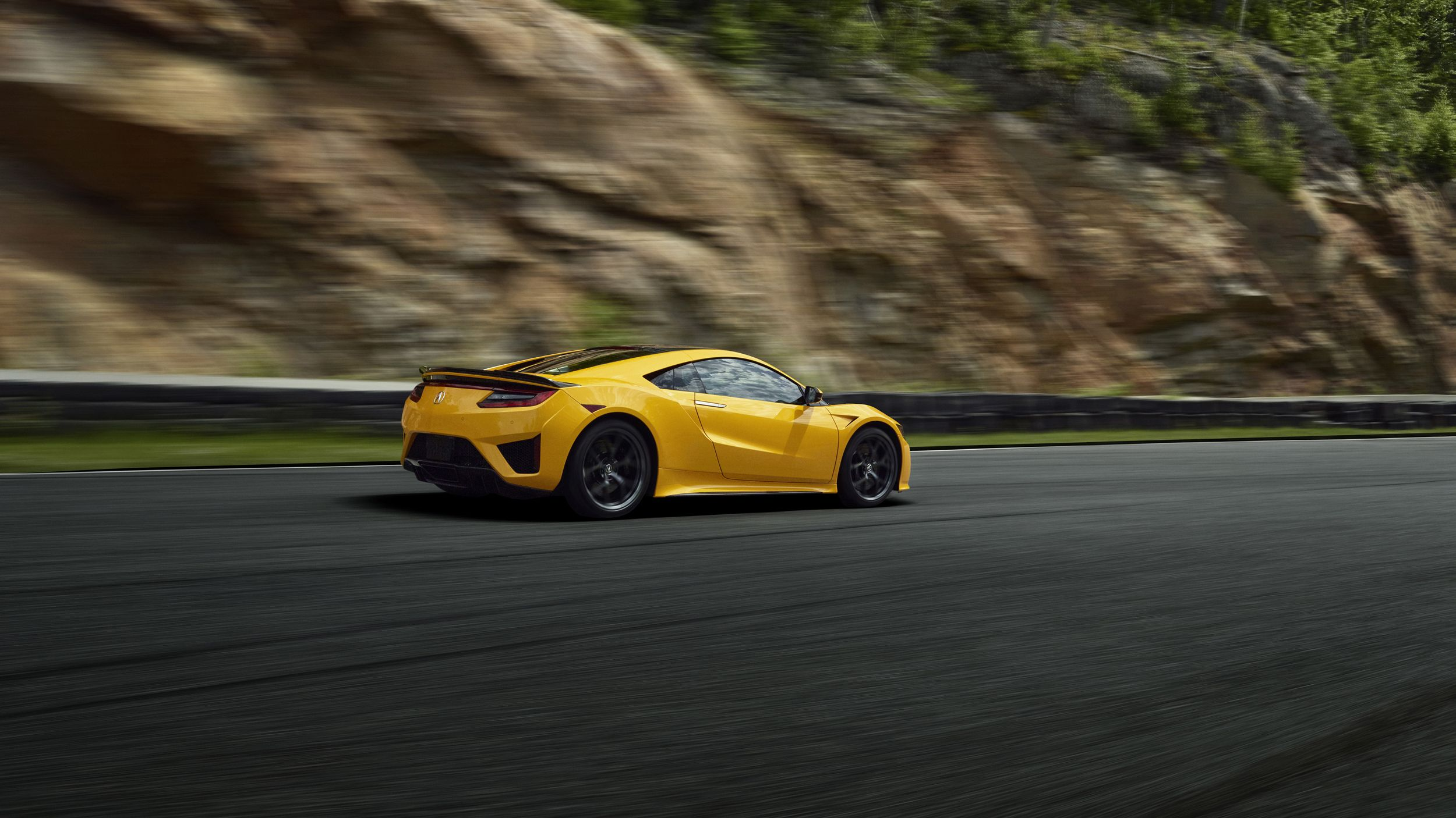 2020 Acura NSX Indy Yellow Pearl Acura nsx, Cool sports
