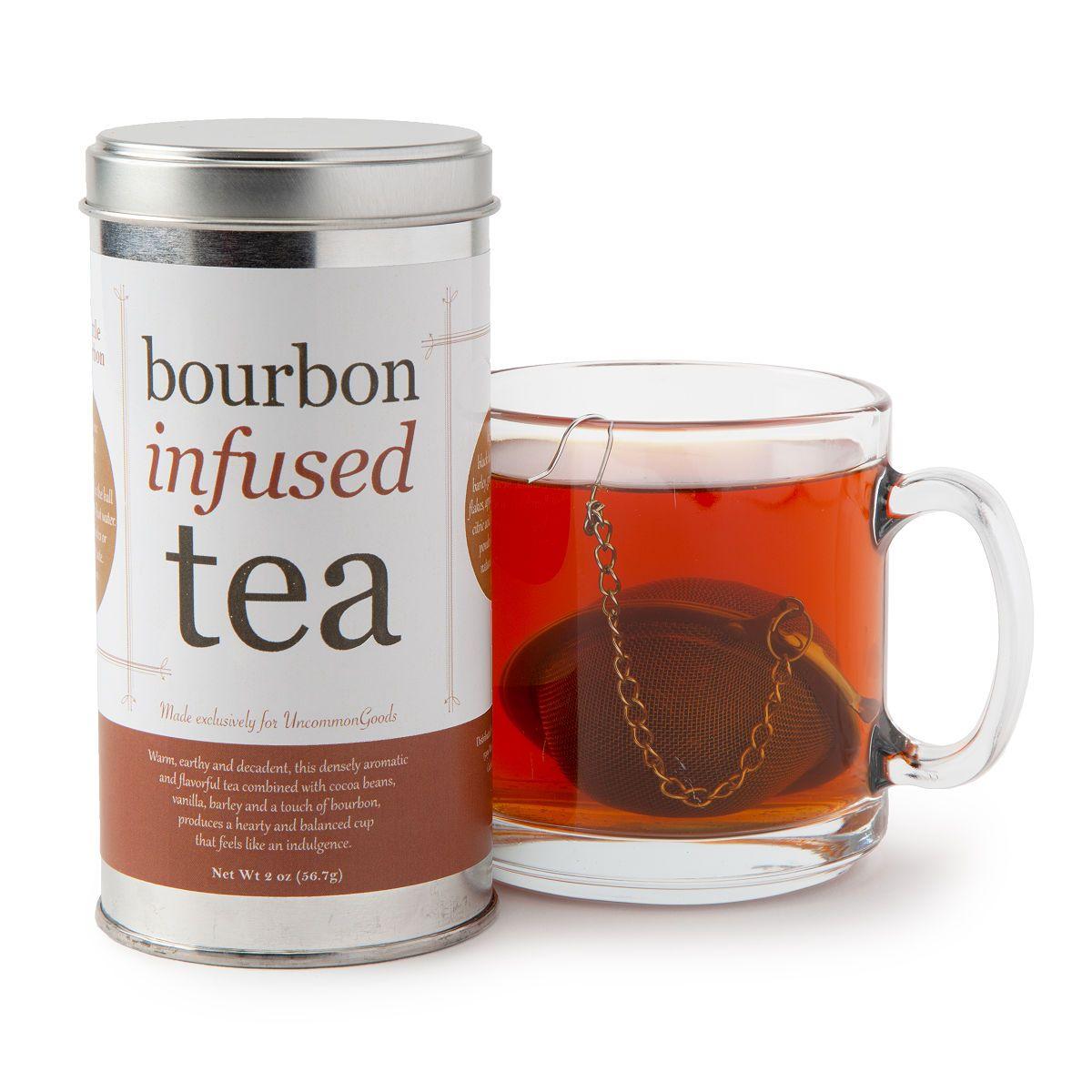 Bourbon Infused Tea Infused Coffee Flavored Tea Organic Black Tea