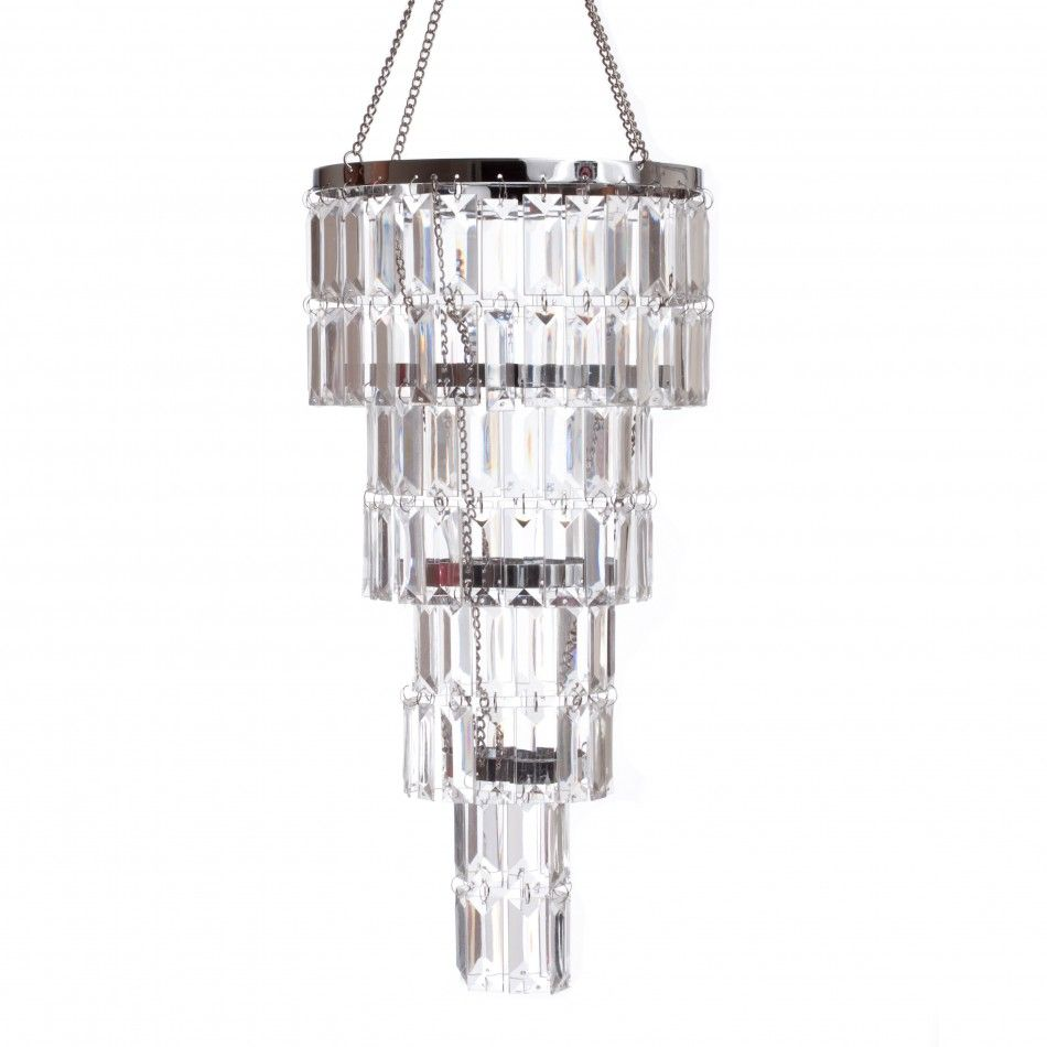 4 Tier Gemstone Crystal Chandelier [ZHLL904 Four Tier Crystal ...