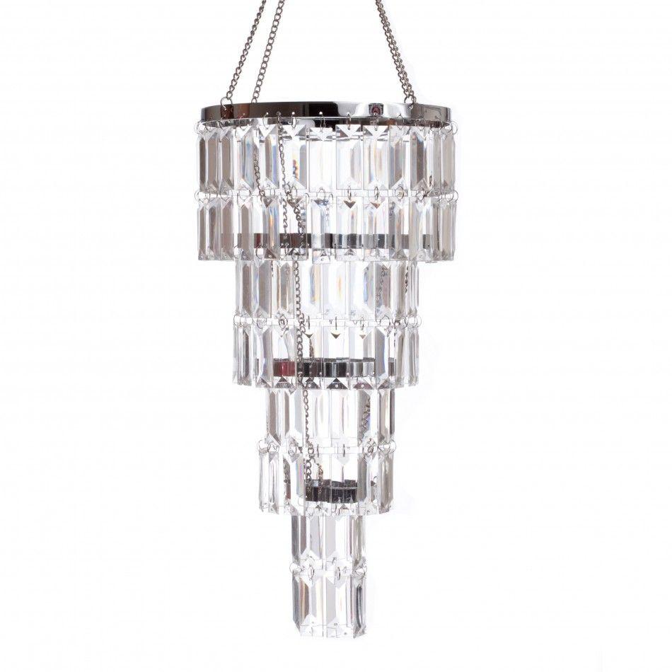 4 Tier Gemstone Crystal Chandelier [ZHLL904 Four Tier Crystal ...