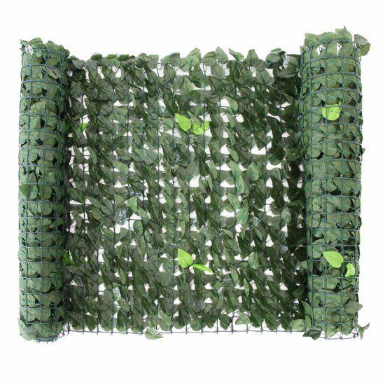 sichtschutz im garten - natürliche wirkung Fence design Pinterest