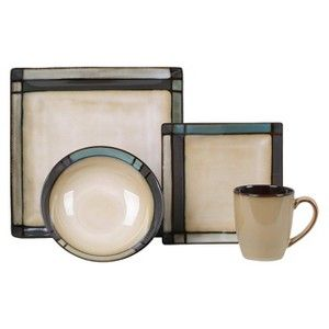Expect More. Pay Less. Casual DinnerwareDinnerware SetsSquare ...  sc 1 st  Pinterest & Threshold™ 16 Piece Flint Square Dinnerware Set   MODERN DISHES ...