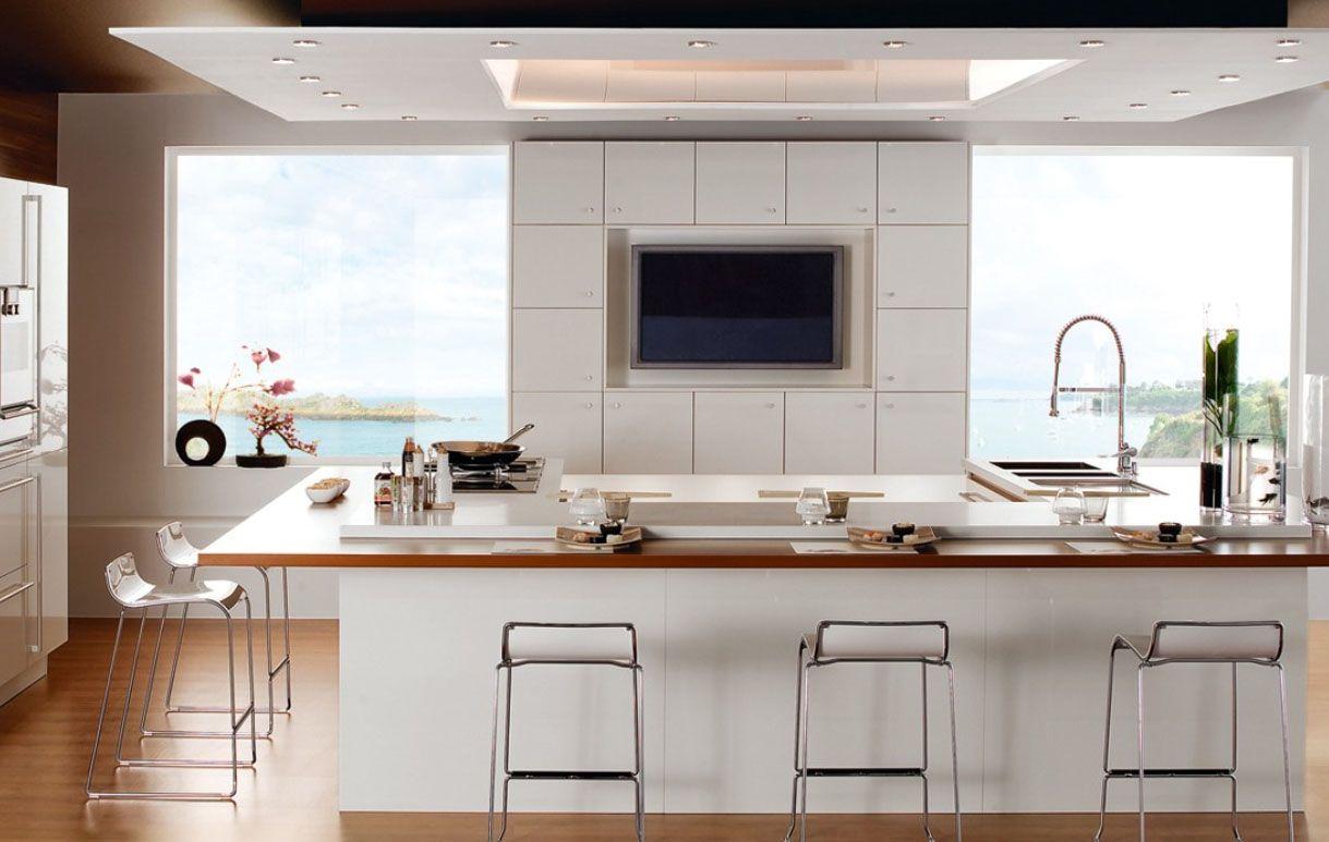 Homeownerbuff white contemporary u minimal kitchen designs kitchen