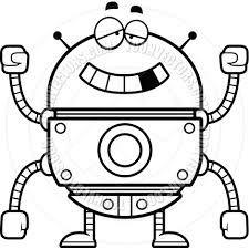 Risultati immagini per disegni da colorare robots