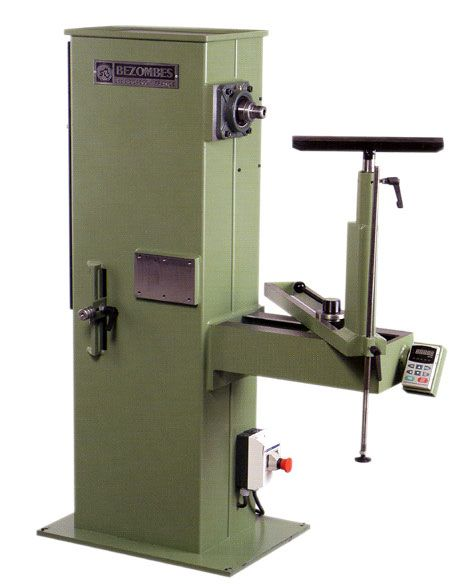 Tour a bois manuel frontal type BF 500 BEZOMBES Ets WoodTurning