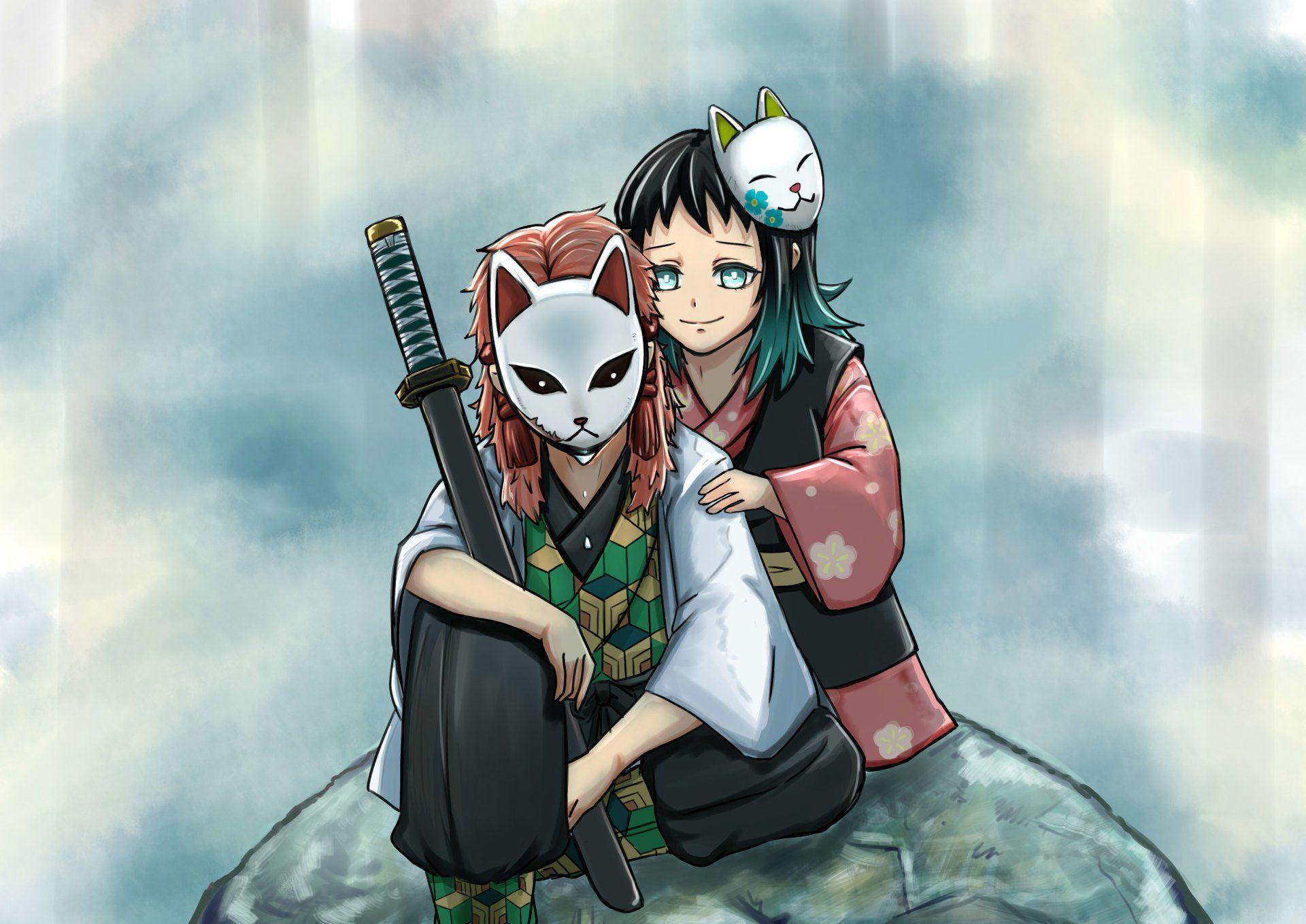 Sabito and Makomo em 2020 Personagens de anime, Anime