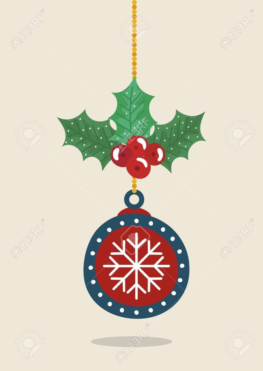Ball Hanging Of Merry Christmas Decoration Vector Illustration Design Ad M Merry Christmas Decoration Pet Christmas Cards Merry Christmas Ya Filthy Animal