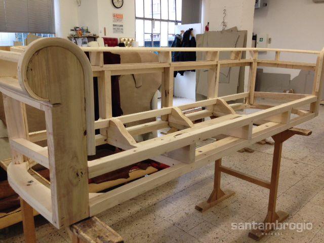 Struttura interna in puro legno massello, resistente come i #divani ...