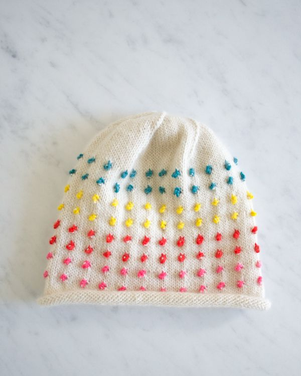 Laura\'s Loop: Button Candy Hat - The Purl Bee - Knitting Crochet ...