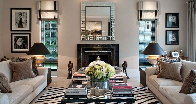 glamorous homes created a relaxed family home