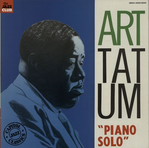 Art Tatum, Piano Solo, French, Deleted, vinyl LP album (LP record), Jazz Club, 2M056-80800, 586269