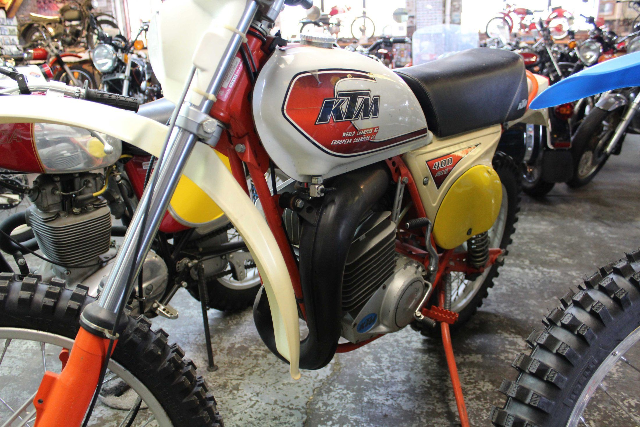 Check Out Our 1978 Ktm Mc5 400 Ktm Enduro Motorcycle Classic Motorcycles