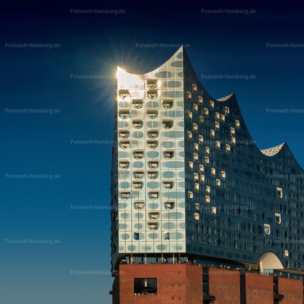 Elbphilharmonie Hamburg Im Abendlicht Fotoleinwand Bilder Hamburg