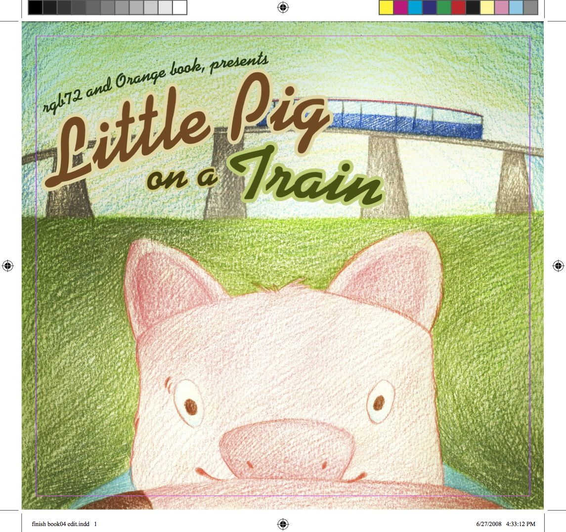 Little Pig on a Train\