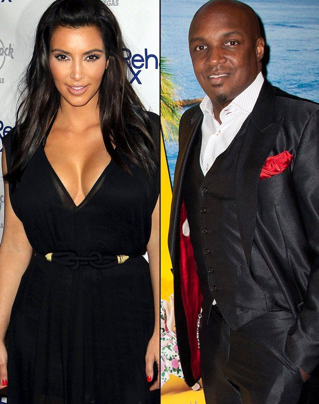 Kim Kardashian 19 And Damon Thomas 30 Long Before She Ever Met Kris Humphries Eloped With Music Producer Back In 2000
