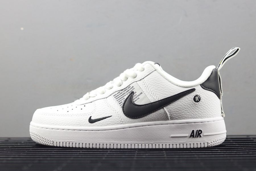new photos 4df8d e7770 NIKE AIR FORCE 1 07 LV8 UTILITY PACK WHITE BLACK AJ7747 100