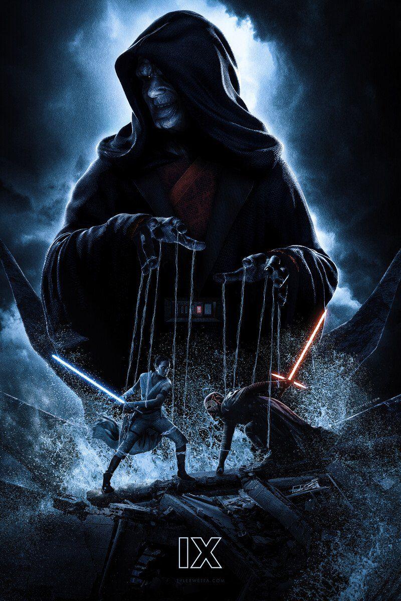 Artstation Star Wars The Rise Of Skywalker Puppet Master Poster Tyler Wetta In 2020 Star Wars Poster Star Wars Art Star Wars Sith