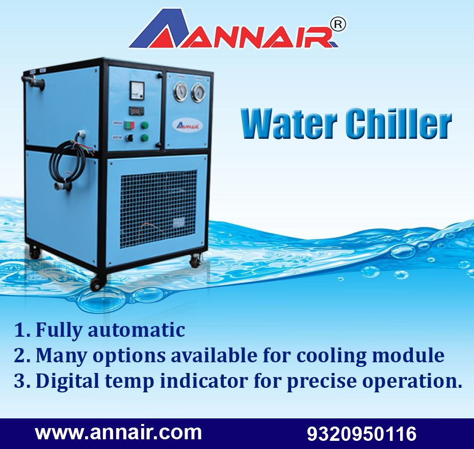 Annair Water Chillers Manufacturers Suppliers And Exporters In
