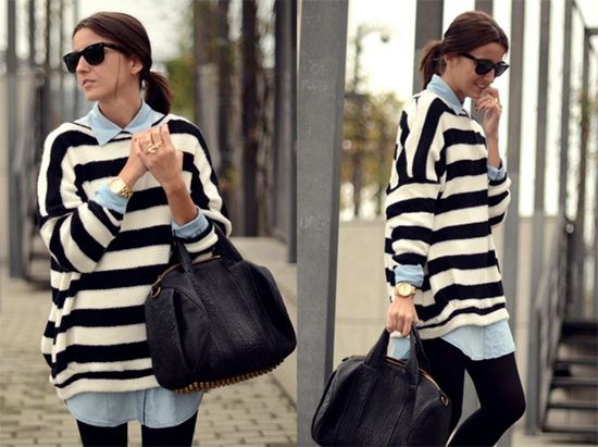 street-style-denim-and-stripes