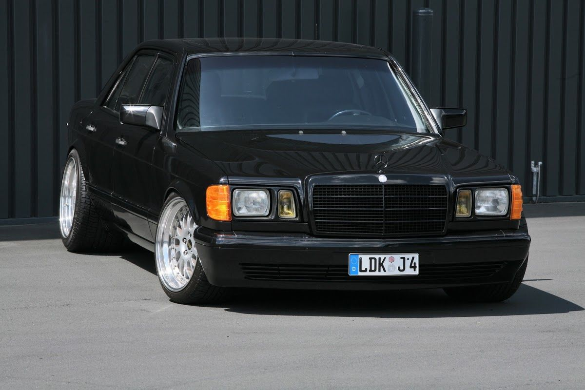 Old Skool Tuning 1983 Mercedes Benz 560se With 386hp By Inden