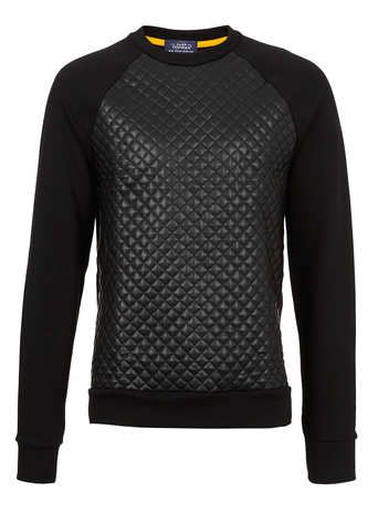 Topman RAGLN - Sudadera - black SRUh1K7at