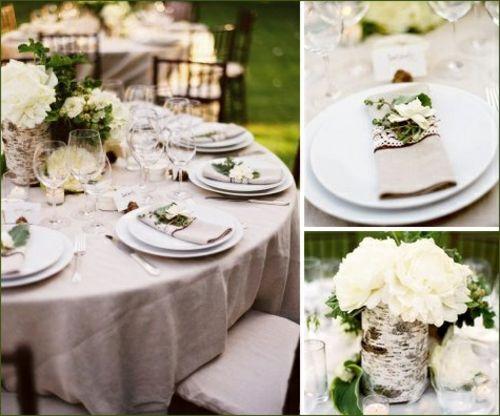 Tischdeko Hochzeit - Hochzeitsdekoideen für ein traumhaftes Erlebnis