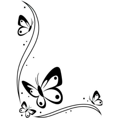 Darice 1218-107 Embossing Folder, 4.25 by 5.75-Inch, Butterflies in The Corner Design Darice