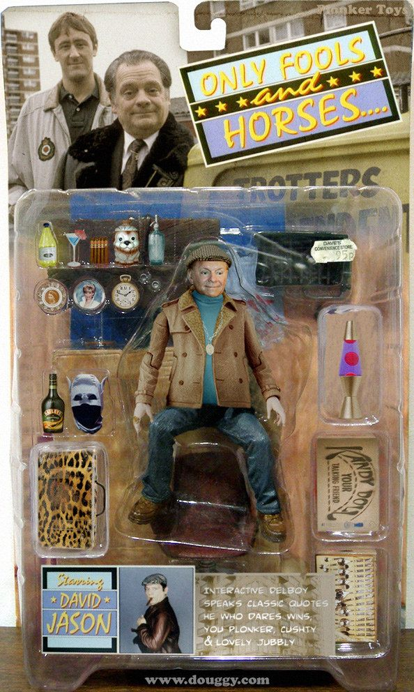 Amazing Action Figure Concepts By Douggy Only Fools And Horses Del Boy