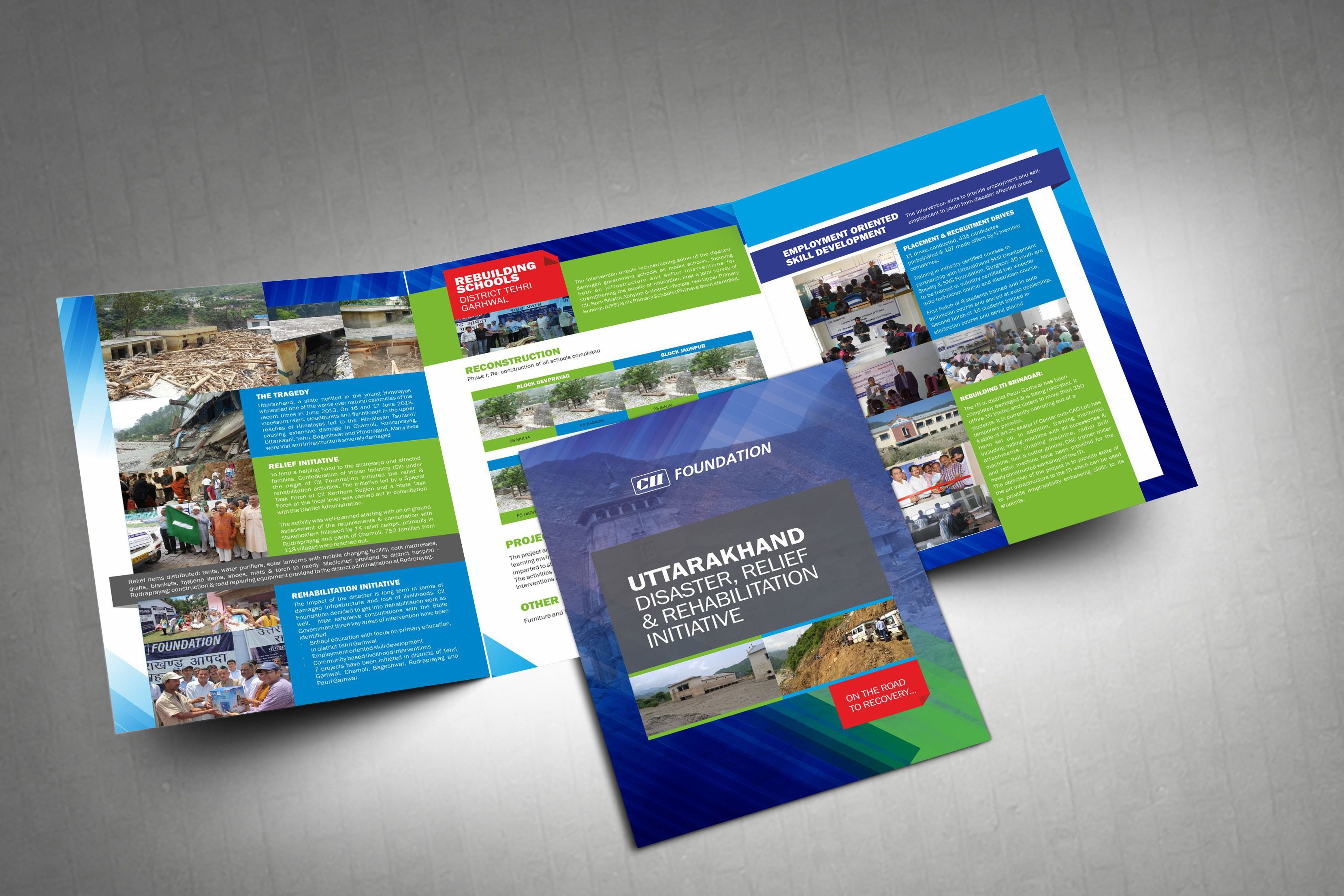 CII Uttrakhand Rehabilitation Brochure