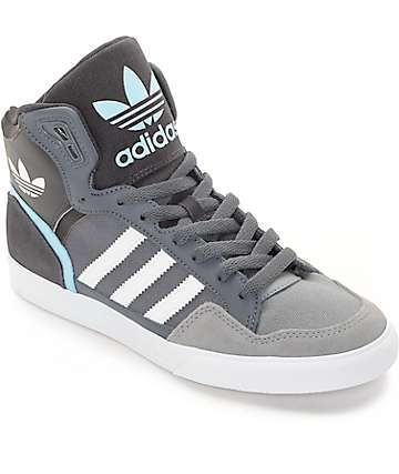 online store edfc4 efdbc adidas Extaball Onix, White  Blue Womens Shoes