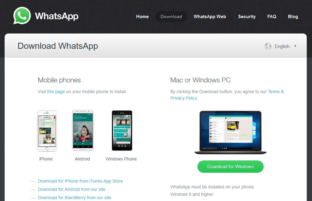 Whatsapp Desktop App For Windows And Mac Windows Phone App